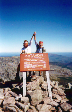 Every Hikers Dream and Rick Rocks atop Katahdin